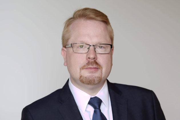 Euroopan komission turvallisuusjohtaja Ilkka Salmi toukokuussa 2016.