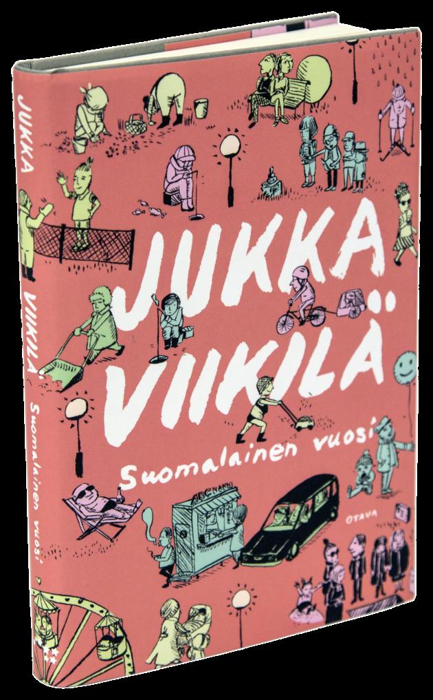 Jukka Viikilä: Suomalainen vuosi. 219 s. Otava, 2018.