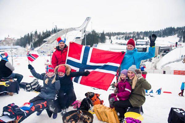 Norjalainen turvallisuusfirma kustansi työtekijät perheineen koko viikonlopuksi Holmenkollenille.