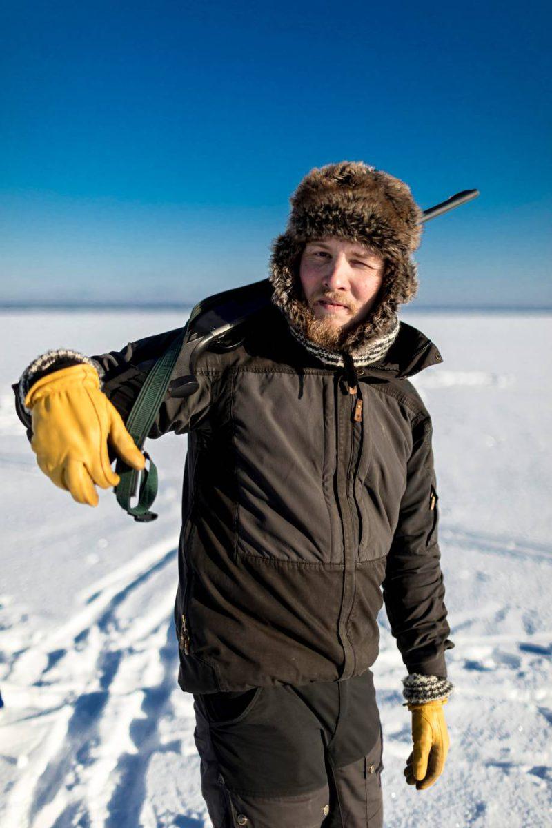 Eräopas Raine Kallio lähtee Tampereelta lähes puoleksi vuodeksi Huippuvuorille.