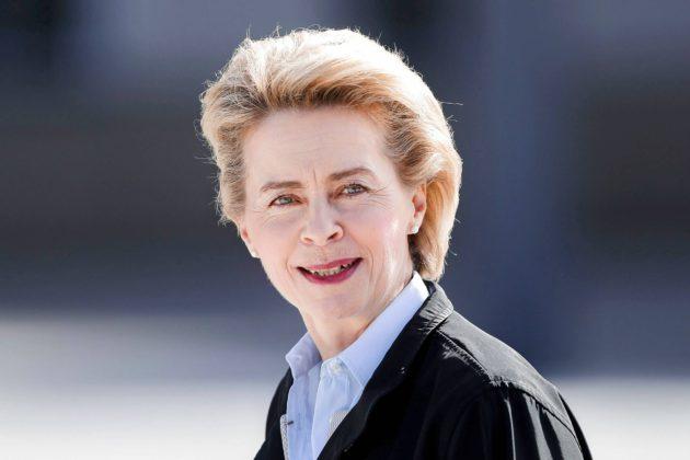 Puolustusministeri Ursula von der Leyen korostaa länsimaiden yhtenäisyyttä.