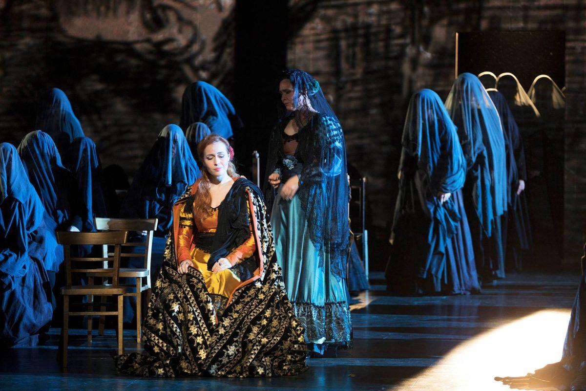 Leonoralla (Elena Stikhina) on Trubaduurin vahvin ääni.