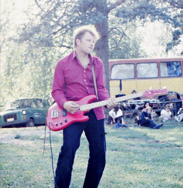 Jouni Mömmö Kiskossa vuonna 1984.