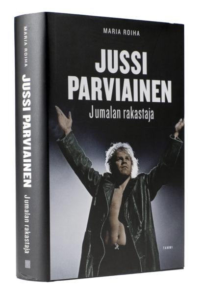 Maria Roiha: Jussi Parviainen –Jumalan rakastaja. 588 s. Tammi, 2018.