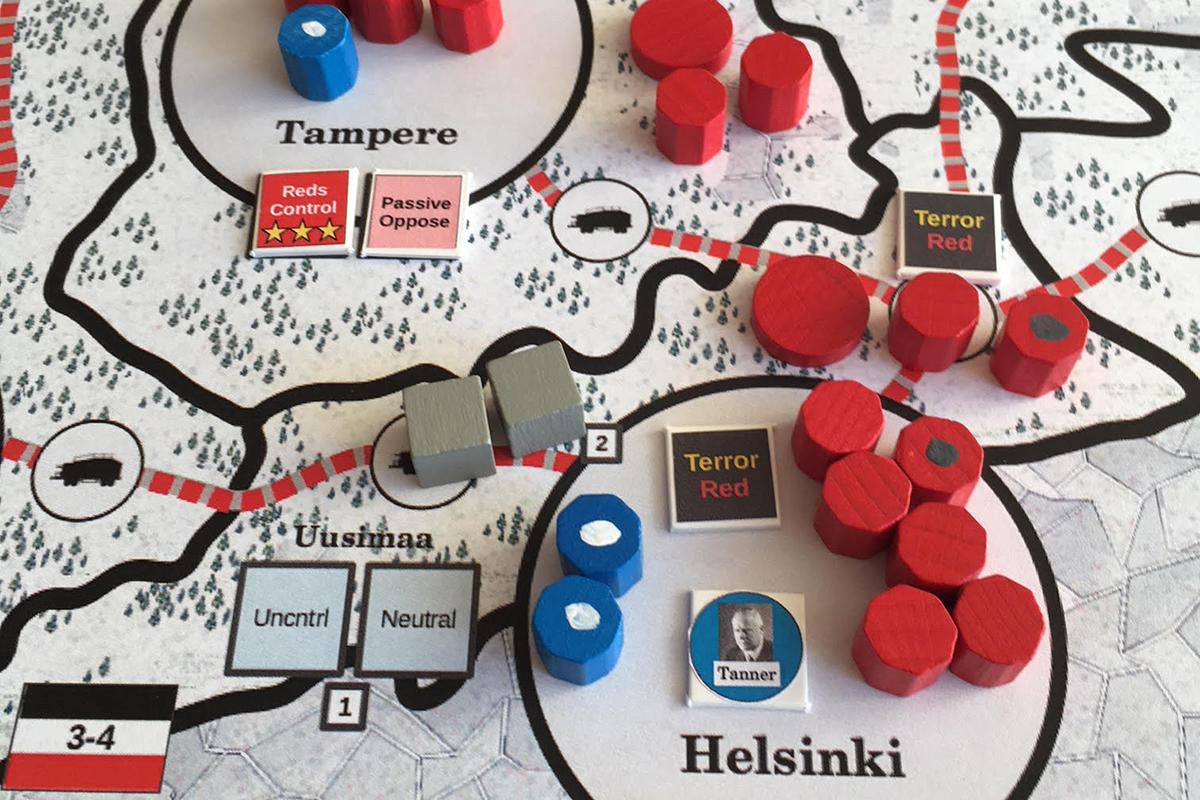All Bridges Burning: Punaiset ovat luoneet hallintoa Uudellemaalle ja Hämeeseen.