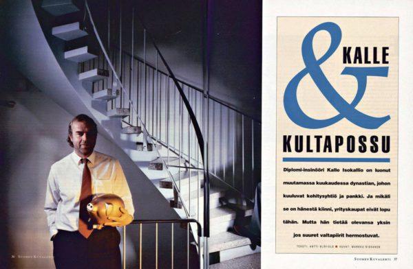 "SK 16/1993 (23.4.1993) Antti Blåfield: ""Kalle & kultapossu"""