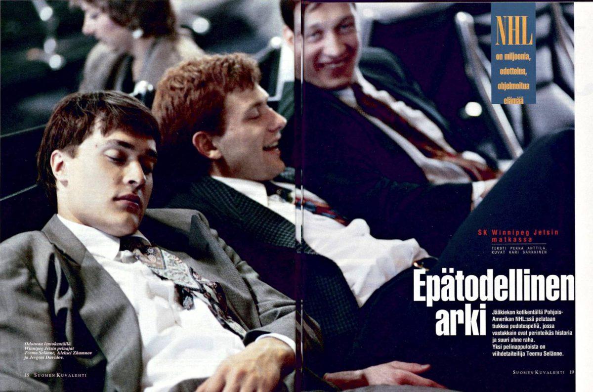 """SK 15/1993 (16.4.1993) Pekka Anttila: """"Epätodellinen arki"""""""