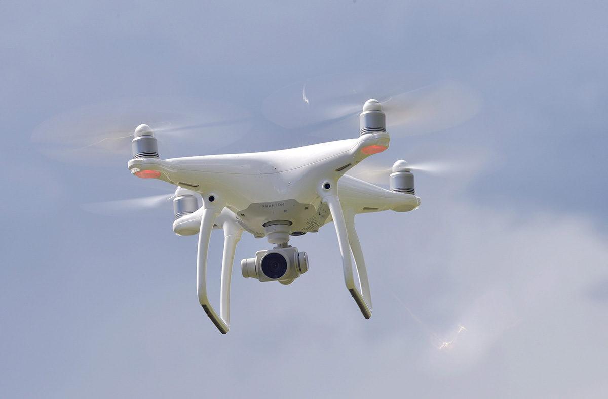 Drooni. Kuvituskuva.