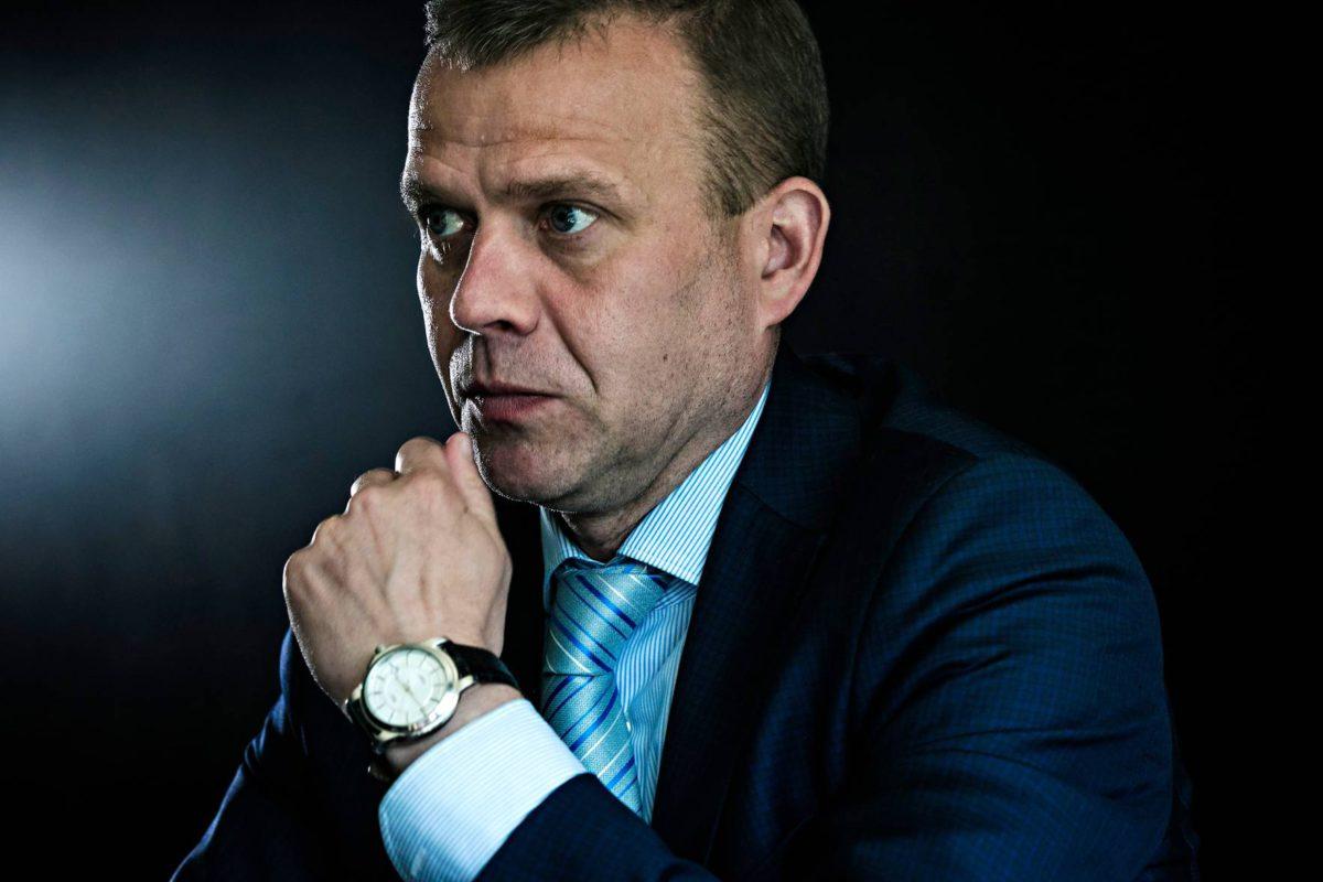 Valtiovarainministeri Petteri Orpo on johtanut kokoomusta kaksi vuotta.
