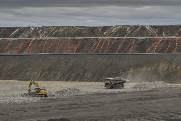 Terrafamen kaivos Sotkamossa kesäkuussa 2017.