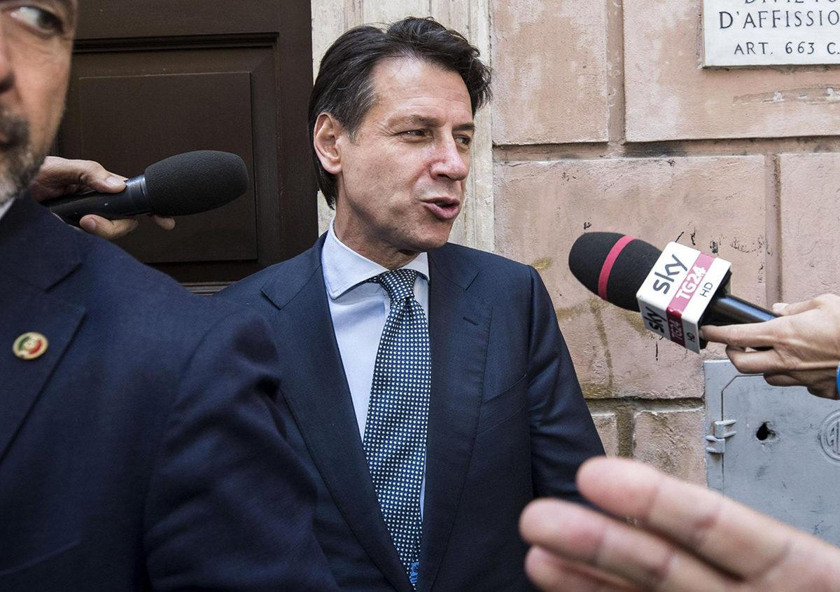 Italian uusi pääministeri Giuseppe Conte.