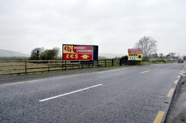 Näin huomaamaton Irlannin ja Pohjois-Irlannin välinen raja oli toukokuussa 2018.