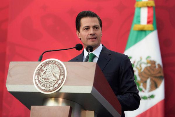 Meksikon presidentti Enrique Peña Nieto.