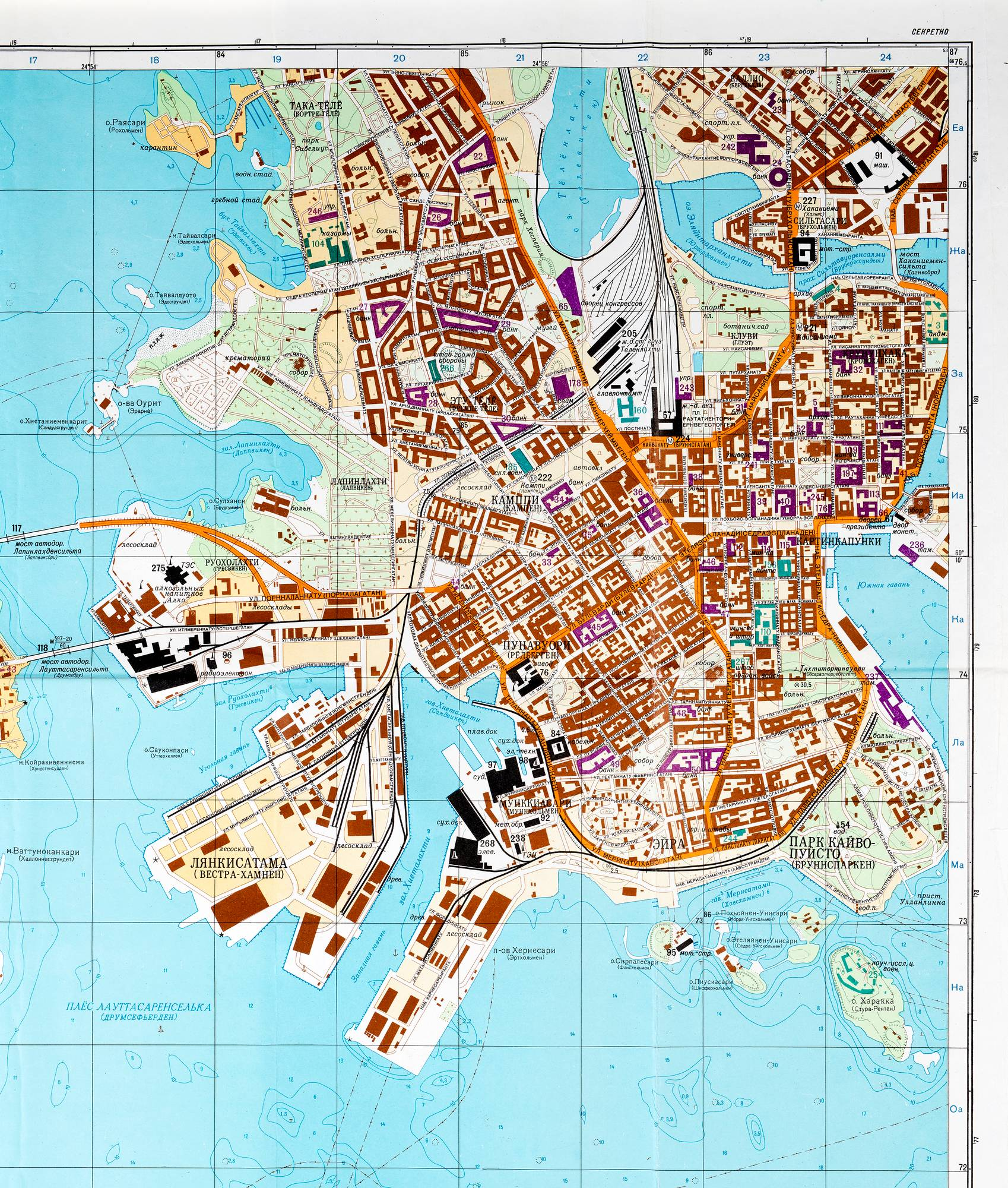 Clone Of Helsinki Kartta