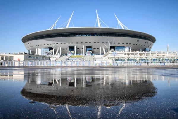 Pietarin uudelle stadionille mahtuu 67000 katsojaa.