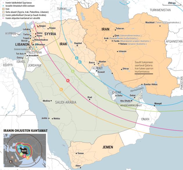 Iran Kartta