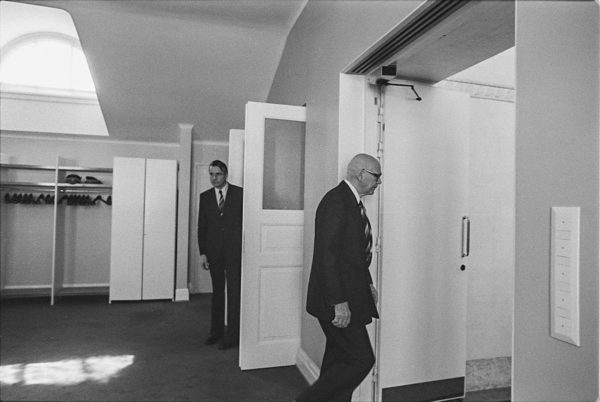 Presidentin esittely lokakuussa 1979.