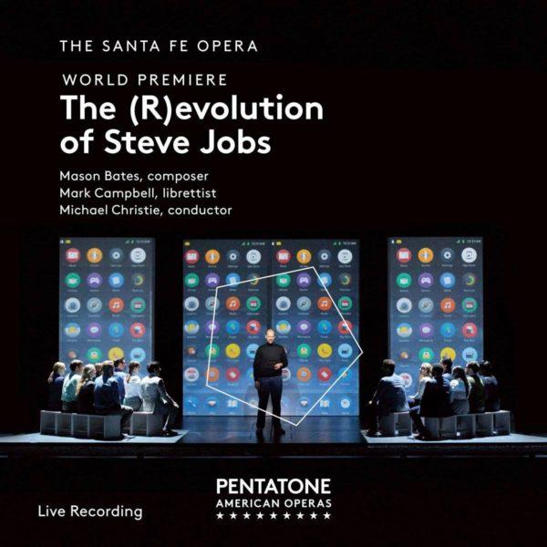 Mason Bates sävelsi oopperan Steve Jobsin elämästä.
