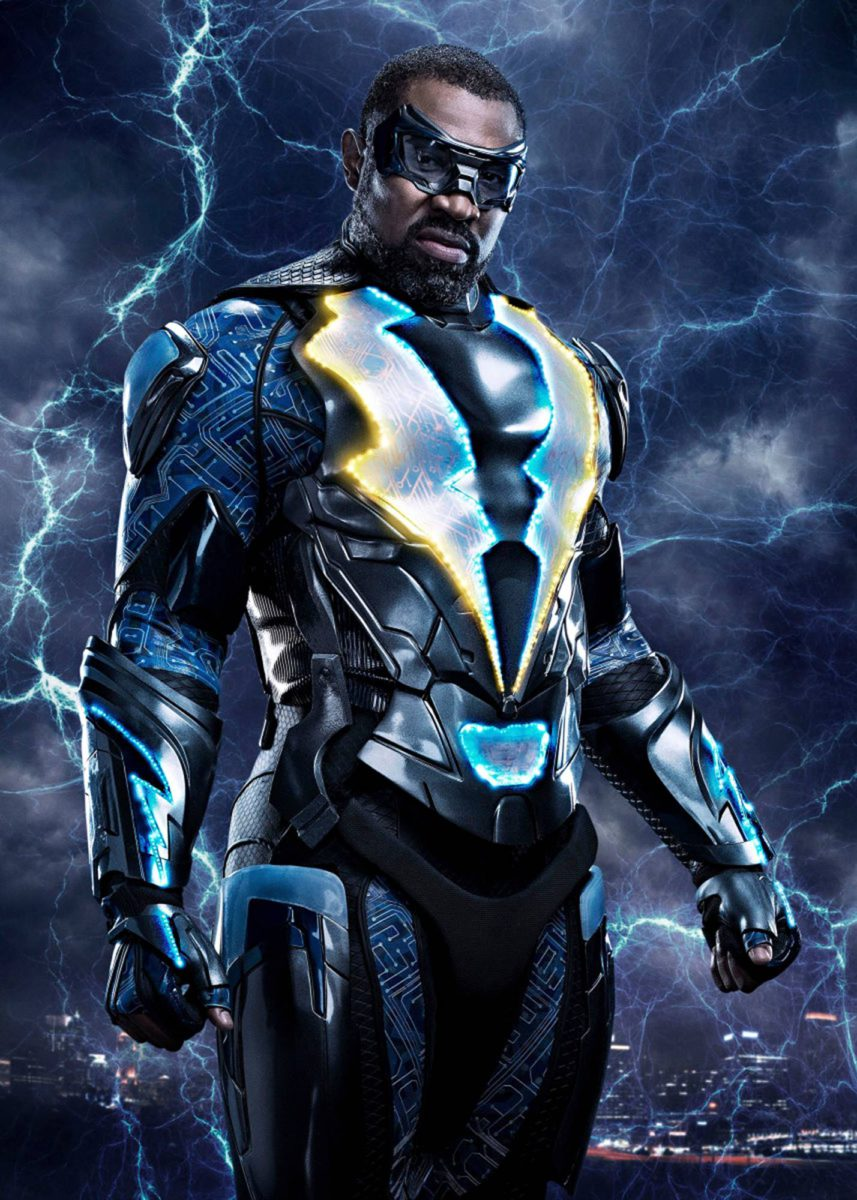 Cress Williams on salamarehtori Black Lightning.