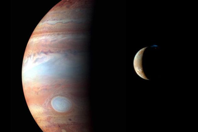 Jupiterin kuiden määrä on jo 79. Kuvassa suurimpiin kuuluva Io.
