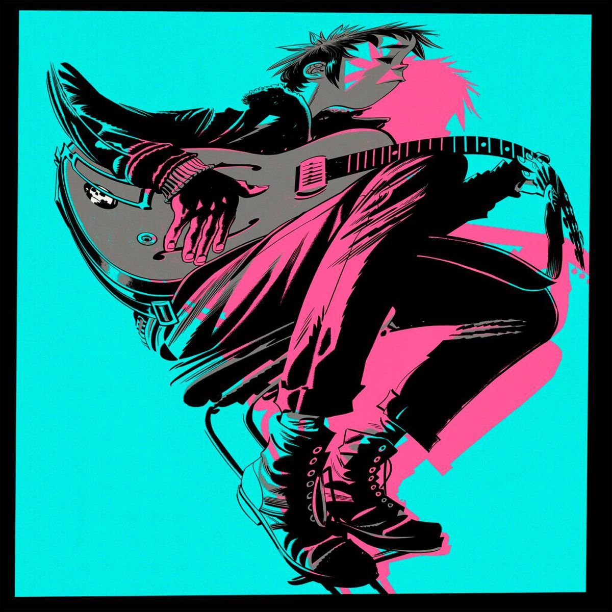 Gorillaz: The Now Now. Parlophone, 2018.