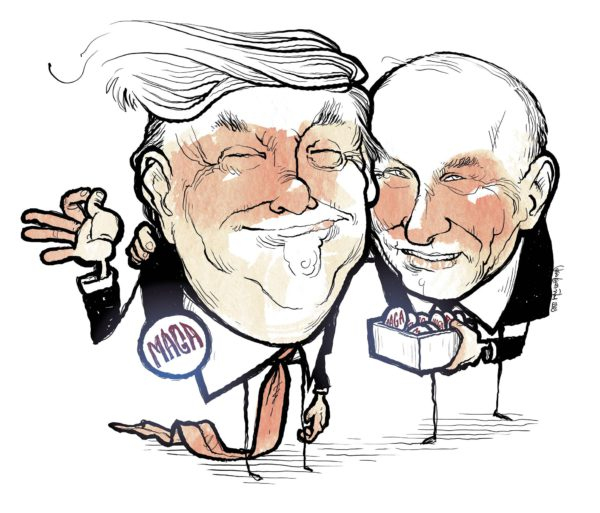 Trump ja Putin. Make Authoritarianism Great Again.