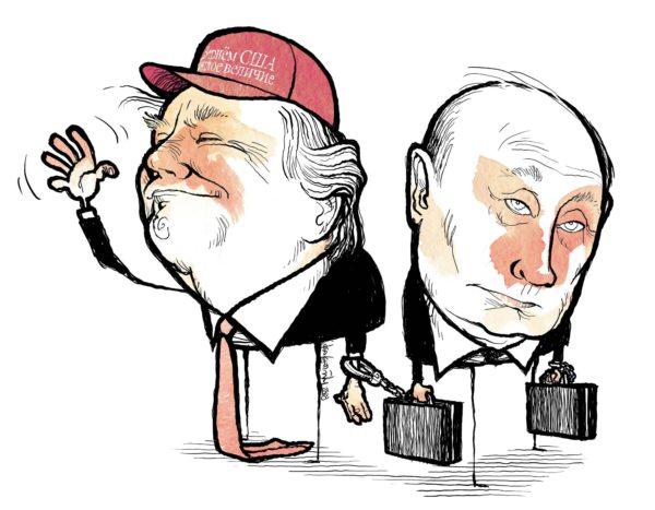 Trump. Venäjälle kihlattu.