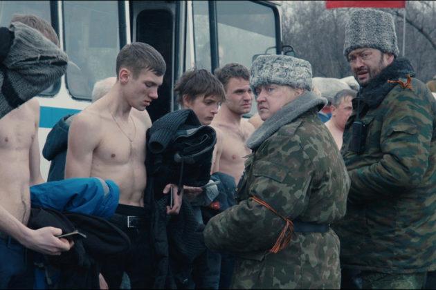 Elokuva Donbass sijoittuu Ukrainan talveen 2013–2014.