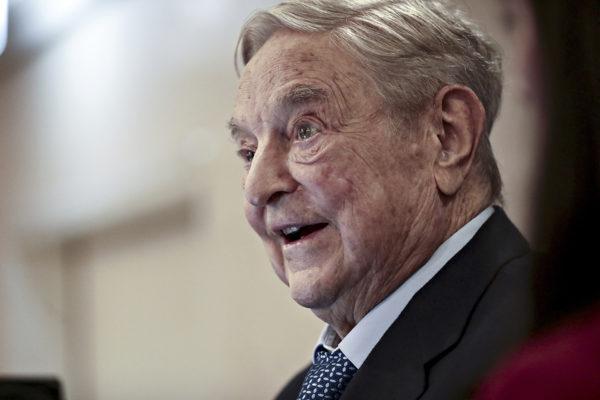 George Soros, 87, tammikuussa 2018 Maailman talousfoorumin kokouksessa Sveitsin Davosissa.