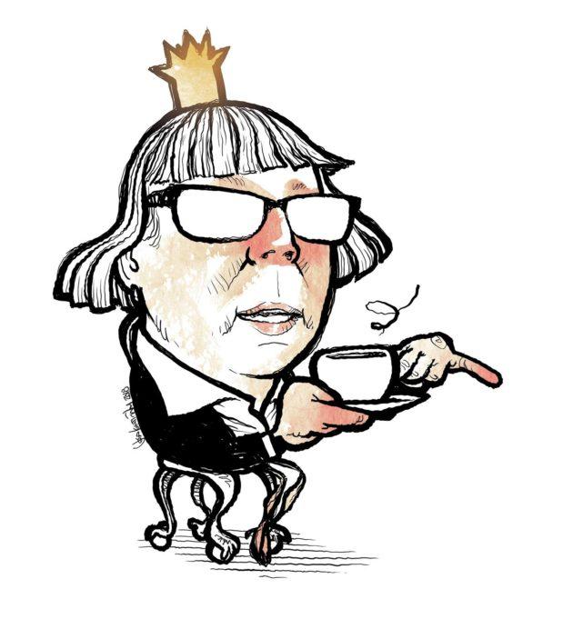 Grundström. Kuningatarmokkaa.