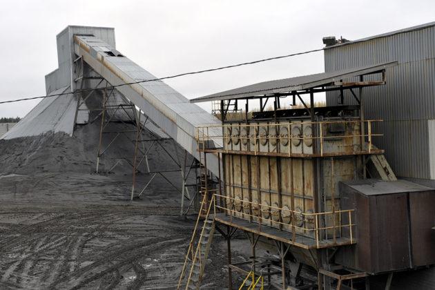 Hituran kaivos Nivalassa syksyllä 2008.