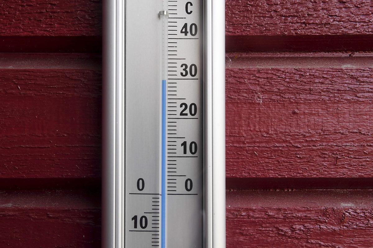 Helsinki 3. elokuuta 2018: lämpötila varjossa lähes 30 astetta.