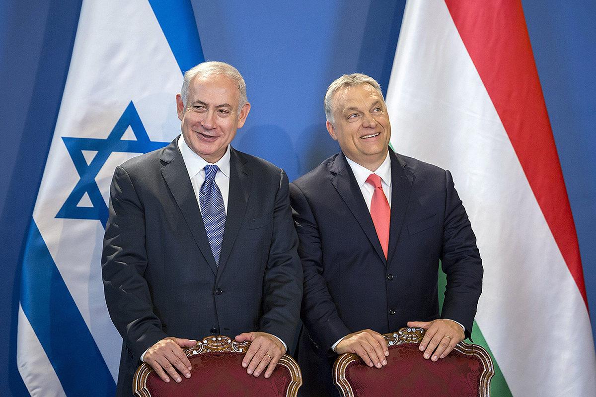 Israelin pääministeri Benjamin Netanjahu tapasi Unkarin pääministerin Viktor Orbánin myös kesällä 2017 nelipäiväisellä vierailulla Unkarissa.