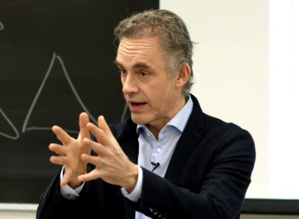 Jordan B. Peterson luennoi Toronton yliopistossa maaliskuussa 2017.