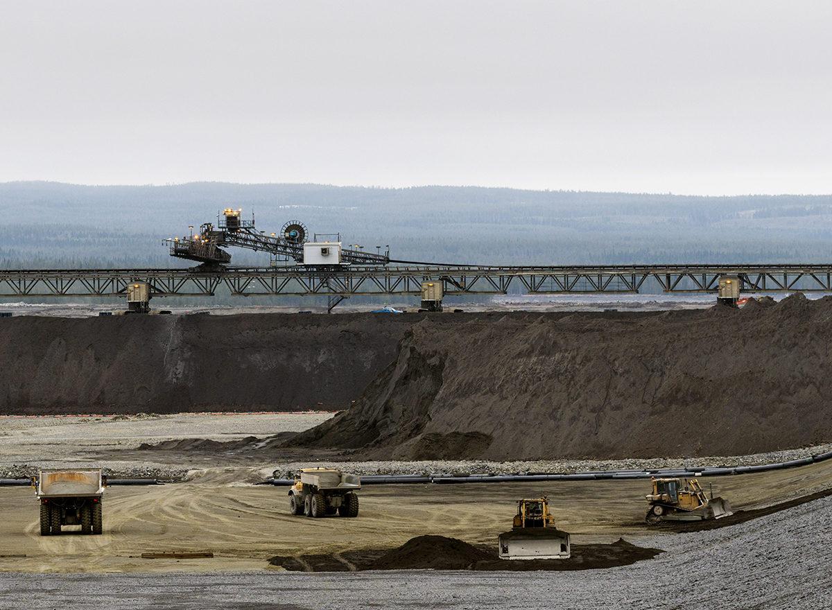 Terrafamen kaivos Sotkamossa toukokuussa 2018.