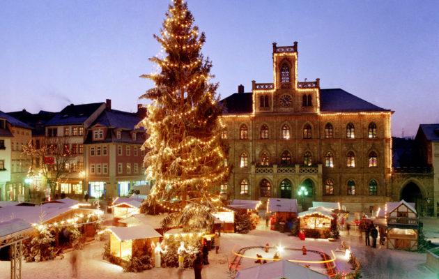 Joulu Weimarissa