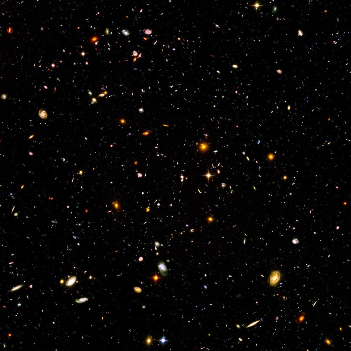 Näemme vain viisi prosenttia universumin massasta, loppu on tuntematonta ainetta tai energiaa.
