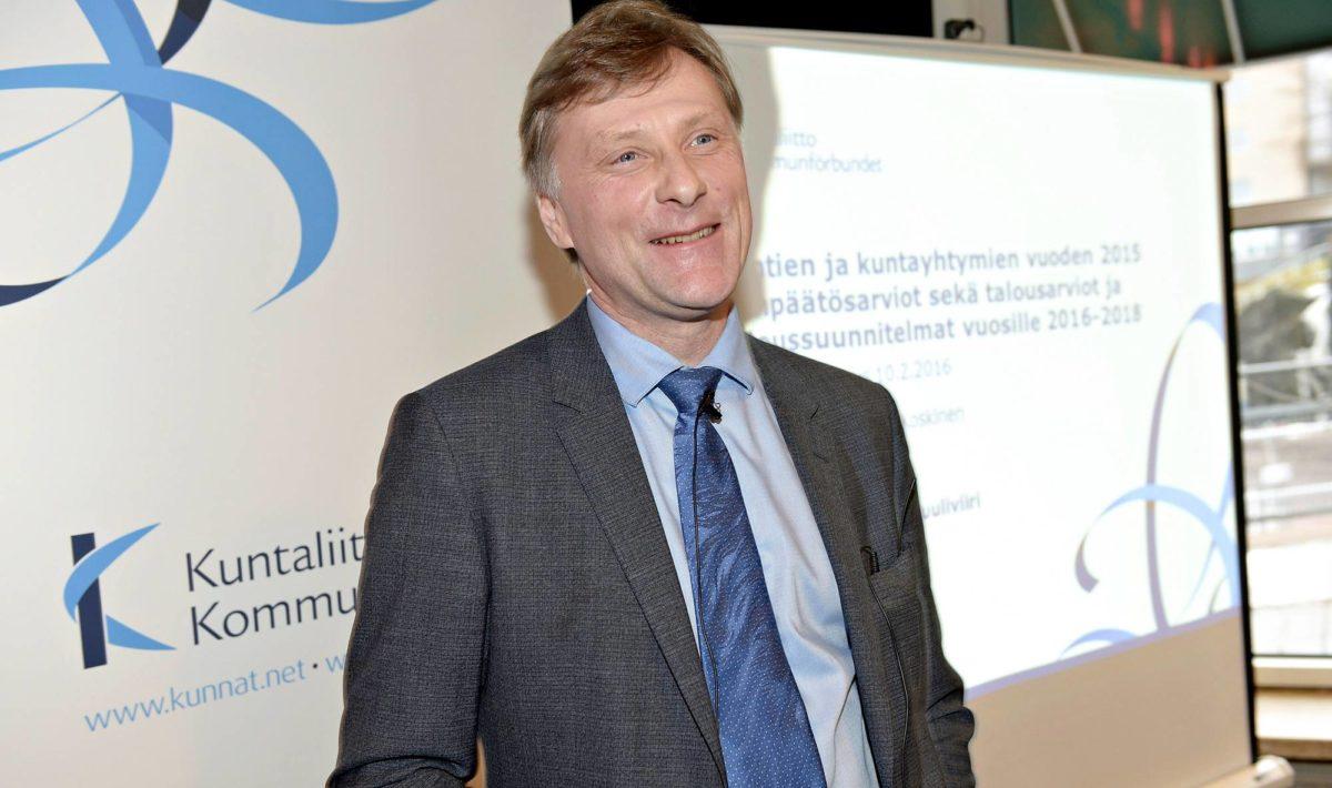 Kuntaliiton ykkösmies Jari Koskinen lähtee pois.