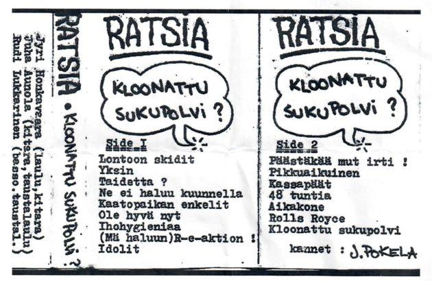 Ratsian musiikki levisi aluksi C-kasetteina.