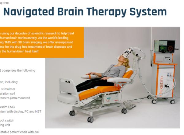 Nexstimin aivostimulaattori