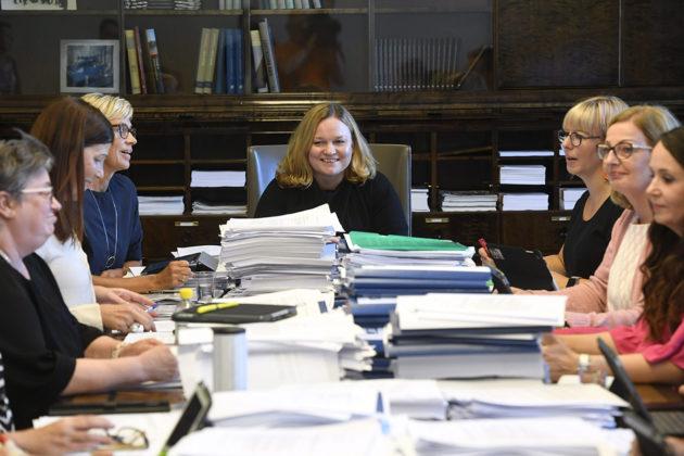 Eduskunnan sosiaali- ja terveysvaliokunta käsitteli sote-pakettia 3. syyskuuta 2018.