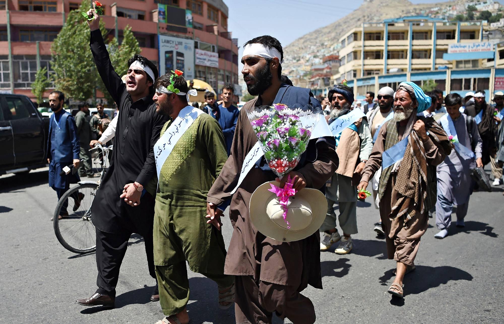 Rauhamarssijat kulkivat kesäkuussa yli 600 kilometrin matkan Helmandin maakunnasta Kabuliin.