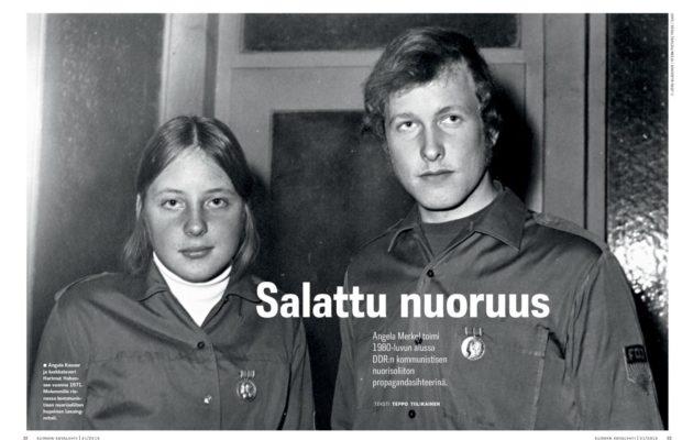 Angela Merkelin salattu nuoruus – Toimi kommunistisen nuorisoliiton propagandasihteerinä ...