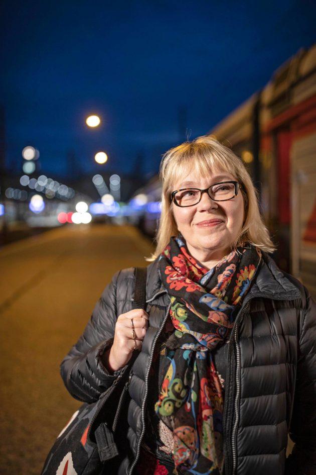 Arja Paananen asuu Helsingissä, mutta matkustaa säännöllisesti Moskovaan ja Pietariin.