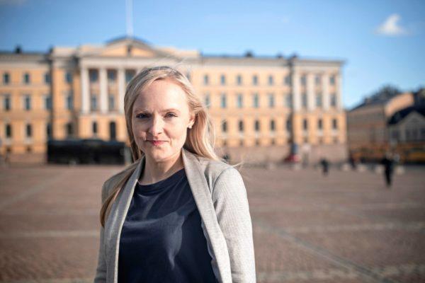 Köyhyystutkija Maria Ohisalo toimii Touko Aallon sijaisena.