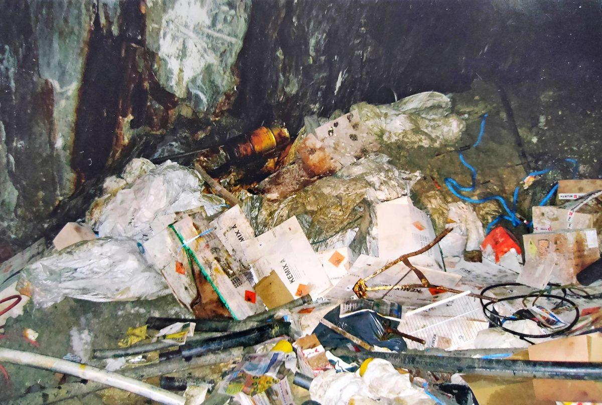 SK paljasti laittoman kaatopaikan 26. syyskuuta.