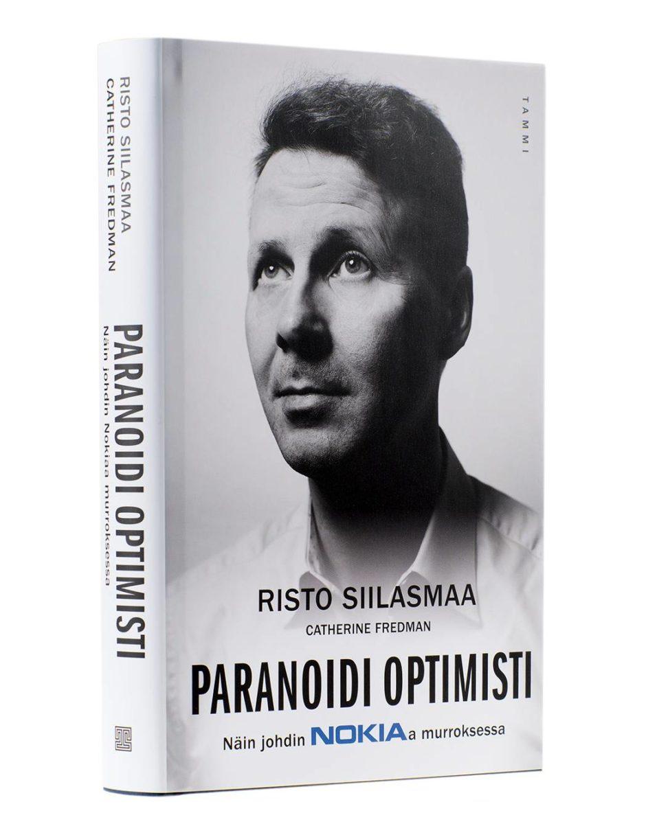 Risto Siilasmaa & Catherine Fredman: Paranoidi optimisti. Suom. Markku Päkkilä. 368 s. Tammi, 2018.