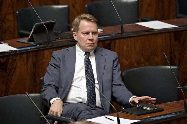 Harri Jaskari nousi eduskuntaan Pirkanmaalta 2007.