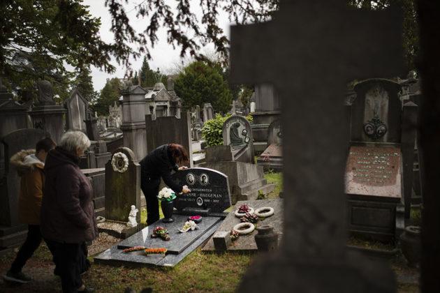 Laekenin hautausmaa Brysellissä 1. marraskuuta 2018.