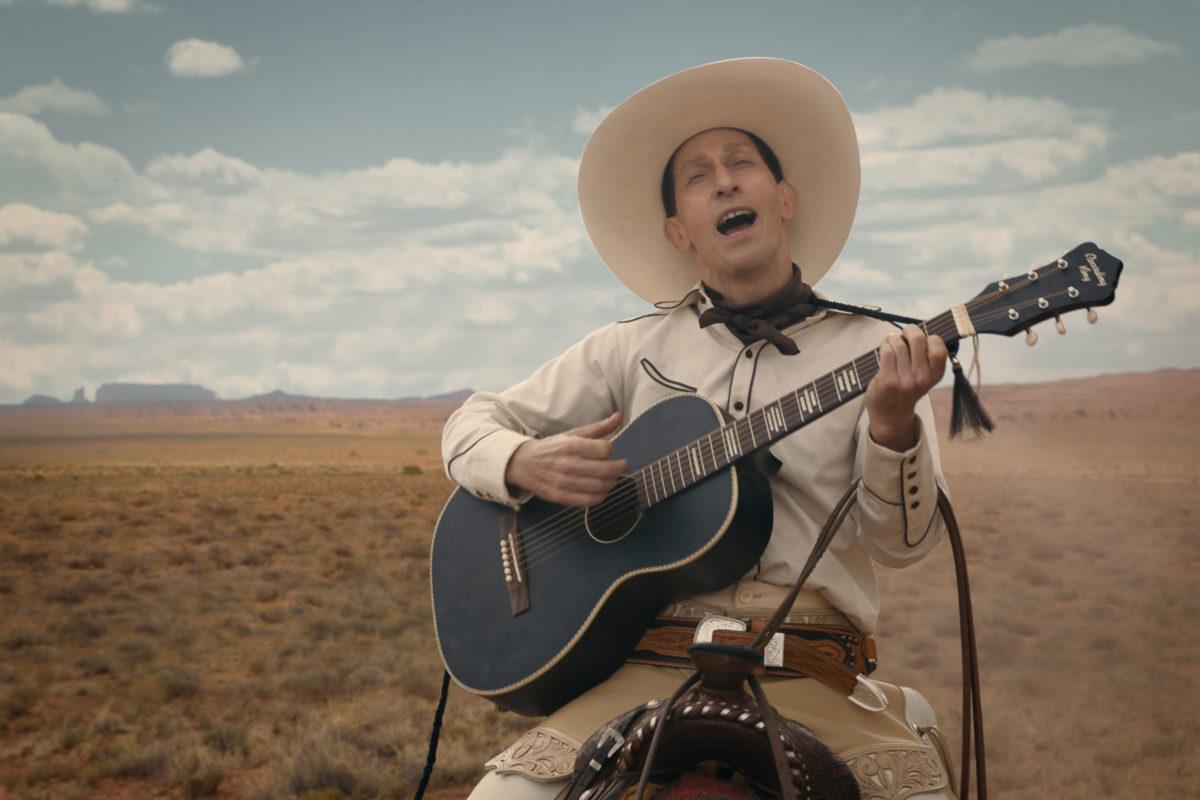 Tim Blake Nelson elokuvassa The Ballad of Buster Scruggs.